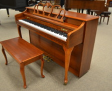 Baldwin spinet, Queen Anne cherry