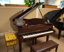 Yamaha MKIV Disklavier grand, polished mahogany