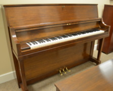 Yamaha walnut studio piano