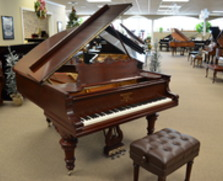 Steinway ice cream cone A in Mahogany