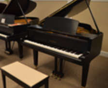 Yamaha GH1 baby grand. Satin ebony