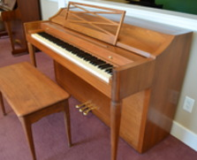 Baldwin Acrosonic spinet, walnut