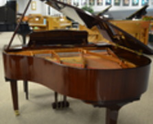 Yamaha polished mahogany baby grand (beautiful)!!