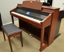 Kawai CP139 digital ensemble piano, mahogany