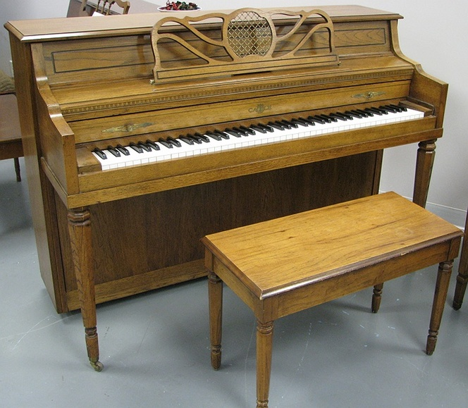 1982 Cable Console Piano - Upright - Console Pianos