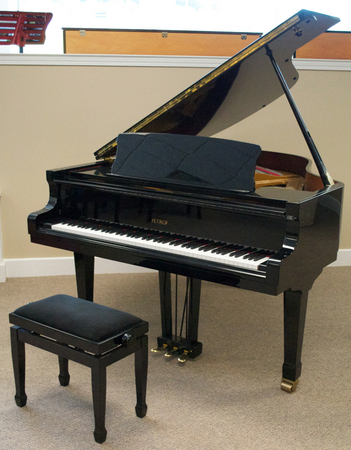1997 Petrof Model IV Grand Piano - Grand Pianos