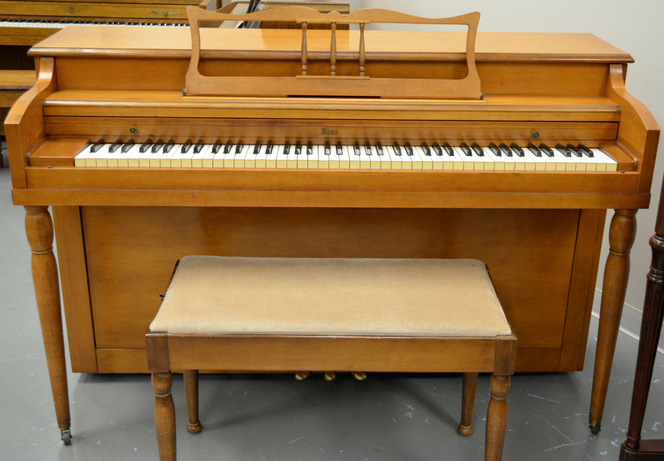 1930 Vose Cherry Spinet - Upright - Spinet Pianos