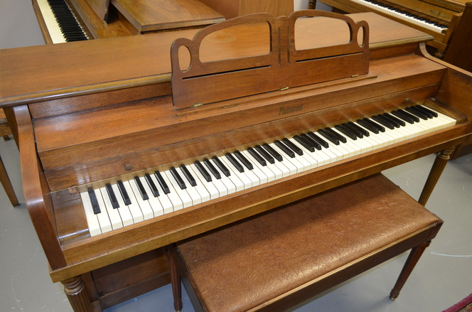 Plaincrest Spinet Piano - Upright - Spinet Pianos