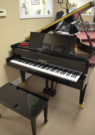 1997 Baldwin Model R Grand with Player System - Grand Pianos