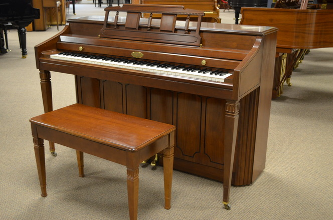 1974 Wurlitzer piano ready for adoption - Upright - Spinet Pianos